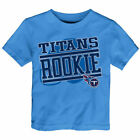 Tennessee Titans Toddler Light Blue New Rookie T-Shirt - NFL