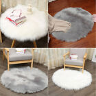 Внешний вид - Soft Artificial Sheepskin Rug Chair Cover Artificial Wool Warm Hairy Carpet Seat