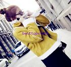 Womens Winter Warm Thicken Short Biker Jacket Suede Lamb Fur Coat Outwear Parka