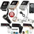 Wireless Bluetooth Car FM Transmitter SD MP3 Player For iPhone Samsung HTC LG