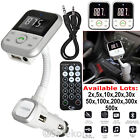 Wireless Bluetooth Car FM Transmitter SD USB MP3 Player Mobile Phone Charger Lot