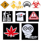 Universal  Car Reflective Sticker Vinyl Skateboard Motorcycle Laptop Decal Sign