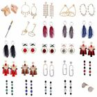 1Pair Fashion Elegant Charms Woman Girl Pendant Alloy Earrings Jewelry Gift New