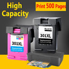 Lot Black and Colour Ink Cartridges For HP 301XL Deskjet 1000 2540 3050A