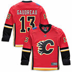 Fanatics Branded Johnny Gaudreau Calgary Flames Youth Red Replica Player Jersey