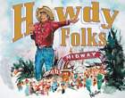 """Collectable Classic T-Shirts BIG TEX """"Howdy Folks"""""""