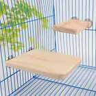 Wooden Cage Platform Shelf Stand Board for Small Pet Rate Hamster Squirrel USA