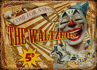 THE WALTZERS  VINTAGE STYLE FUNFAIR CIRCUS METAL SIGN : 3 SIZES TO CHOOSE FROM