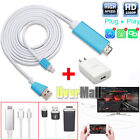 8 Pin Lightning to HDMI HDTV AV Cable Adapter for iPhone 8 X 7 6S Plus New iPad