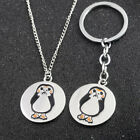 Star Wars The Last Jedi Porg Bird Necklace Keychain Keyring Pendant Kids Gift $1.39 USD on eBay
