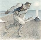 "HEOPHILE-ALEXANDRE STEINLEN ""Big Reaper"" print NEW choose SIZE, from 55cm up"