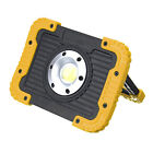 Portable 30W 750 Lumens COB LED Rechargeable Working Light USB Charge Power Bank