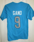 Carolina Panthers Men's Gano 9 Graphic Short Sleeve Shirt NFL Small  A14 on eBay