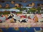 roosters reading - FARM horse pig ROOSTER chicken cow BTY Cotton quilt FABRIC U-Pick READ for INFO