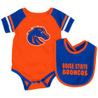 Boise State Broncos Colosseum Roll-Out Infant One Piece Outfit and Bib Set