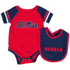 Ole Miss Rebels Colosseum Roll-Out Infant One Piece Outfit and Bib Set