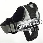 Service Dog Vest Large Dog Reflective Dog Harness Padded free 2 label patches
