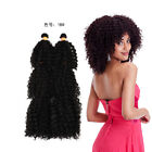 short curly weave - 6Bundles Weft Hair Weave Short Kinky Curly Jazz Wave Kanekalon Hair Extensions