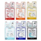 [BERGAMO] 3-Step Mask Pack 6 Types 4pcs - BEST Korea Cosmetic