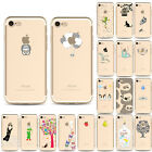 Ultra Thin Crystal Soft TPU Silicone Clear Phone Case Cover for iPhone 7 6 6S