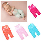 Newborn Baby Girls Lace Floral Backless Romper Jumpsuit Photo Photography Outfit
