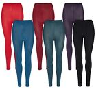 2er Pack Palleon Damen Thermo Leggings mit Innenfleece
