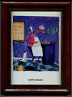 LIGHTLY SEASONED - HOT FRAMED CAJUN ART - M RINARD