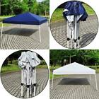 Outdoor 8'x 8' EZ Pop Up Beach Canopy Gazebo Folding Party Tent Shelter