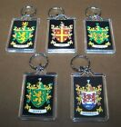 Coat of Arms Key Chain Family Crest Riley Duffy Reed Donnelly Keychain