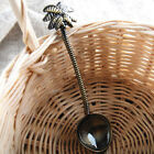 "4"" Retro Style Coffee Cocktail Ice Cream Spoon Coconut Tree Shape Drink Tool 1pc"