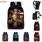 20L Stranger Things2 Backpack School Shoulder Bag Nylon Laptop Rucksack UK Stock