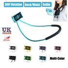 360° Lazy Stand Hand Universal Neck Hanging Strap Holder For Cell Phone Pad UK