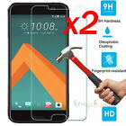 2x 9H Premium Real Tempered Glass Screen Protector Film For HTC ONE M10 M9 M8 M7