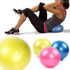 25cm Mini Yoga Exercise Ball Pilates Fitness Birthing Stability Gym US Local image