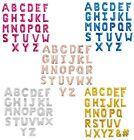 "ALPHABET LETTER A-Z Foil Balloons 34"" Giant Helium Quality or Air Fill {APAC}"