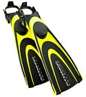 Atomic Blade Open Heel Adjustable Scuba Diving Fins Scuba Snorkeling Free Diving