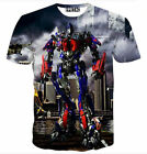 Transformers Optimus Prime Funny 3D Print Casual S-5XL Cool Unisex T-Shirt BH6