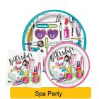 SPA PARTY Birthday PARTY Range NEW Tableware Balloons & Decorations Supplies UQ