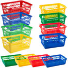 Rectangle Home House Kitchen Office Study Plastic Storage Basket Box Sizes S M L