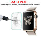 2x Genuine TEMPERED GLASS Screen Protector For iWatch Apple Watch 38mm Series 3~