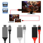 USB 3.0 Type C USB-C Male to 4K HDMI Male HDTV TV Adapter Cable For Macbook Pro