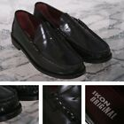 Ikon Originals Albion Mod 60's Plain Top Beefroll Penny Loafer Slip On Black