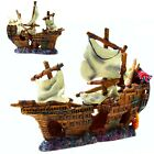 Wreckancient Warship Cave Aquarium Fish Tank Decoration