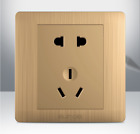 Dual USB 5 Holes Wall Socket Charger AC DC Power Adapter Port Outlet Panel PC