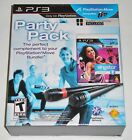 SingStar Dance Party Pack (Sony PlayStation 3, 2010) NEW