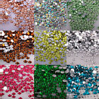 Внешний вид - Lot 1000Pcs Nail Art Flatback Crystal AB Facets Resin Round Rhinestone Bead 2mm
