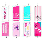 Victoria's Secret Pink Luxe Silicone TPU Case Cover For iPhone X