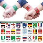 10pc Russia 2018 World Cup Nation Flag Tattoo Stickers Football Soccer Fans USA