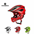 ROCKBROS Cycling Child Helmet Safety Kids Removable Bike Full Helmet