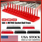 26/28/30/34 Slot Socket Rack Storage Tray Holder Shelf Organizer 1/4'' 3/8' 1/2'